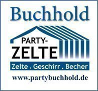 Buchhold partytältlogotyp