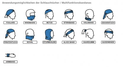 multifunktionell bandana